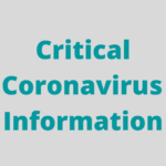 Critical Information for those with Parkinson's during the Coronavirus Pandemic.